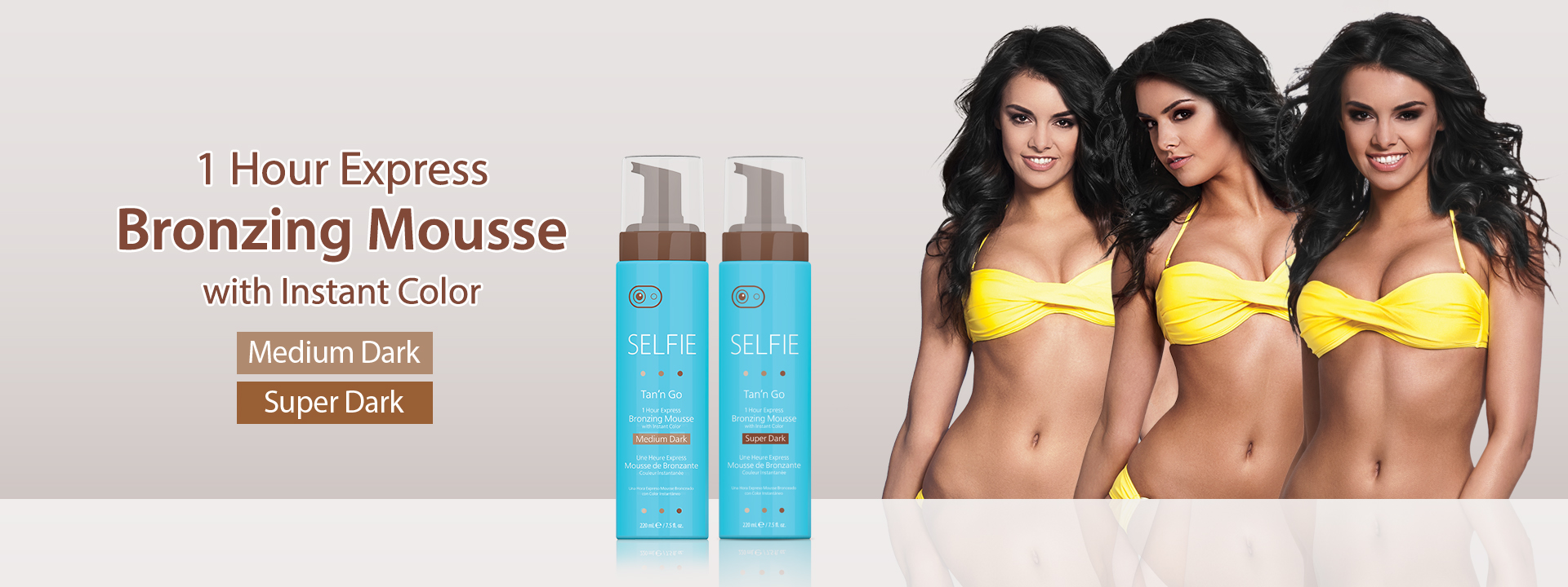 1 Hour Express Bronzing Mousse with Instant Color