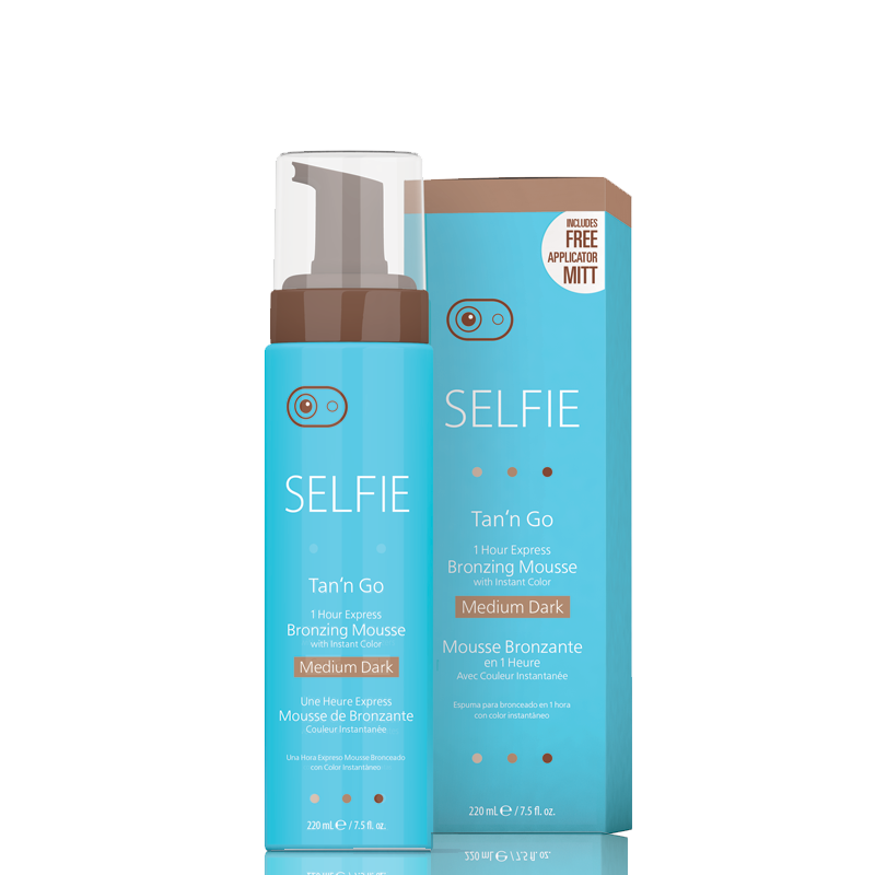 Selfie Mousse Medium Dark